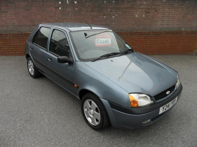 used ford fiesta 2001 blue paint petrol freestyle 3dr previous hatchback for sale in. Black Bedroom Furniture Sets. Home Design Ideas