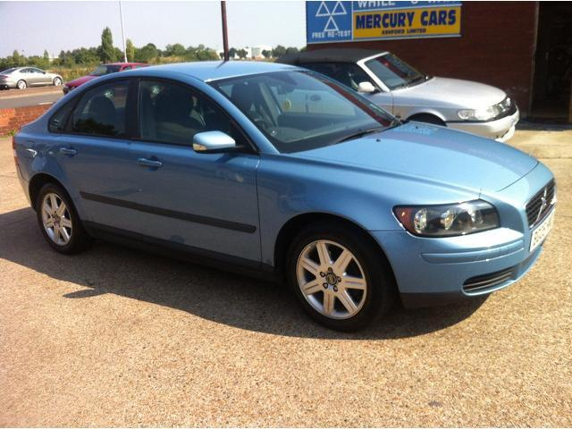 used blue volvo s40 2005 petrol 1 8 s 4dr saloon in great condition for sale autopazar. Black Bedroom Furniture Sets. Home Design Ideas