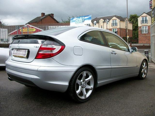 used mercedes benz 2005 diesel class c220 cdi sport coupe silver automatic for sale in wakefield. Black Bedroom Furniture Sets. Home Design Ideas