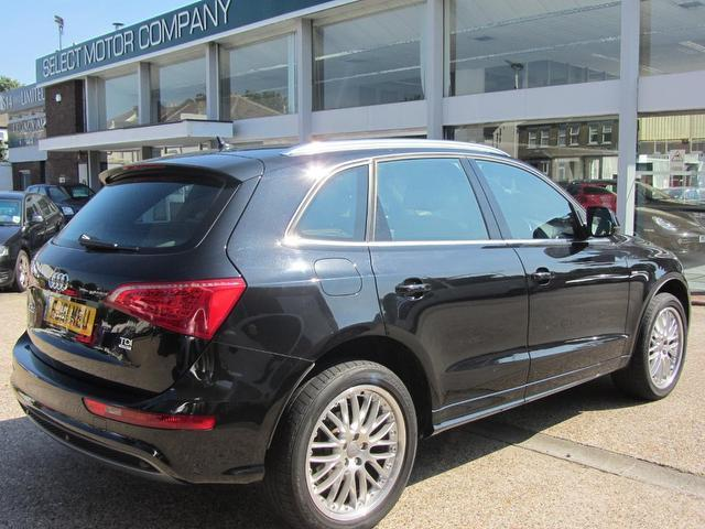 used audi q5 2012 black paint diesel 2 0 tdi quattro s 4x4 for sale in sevenoaks uk autopazar. Black Bedroom Furniture Sets. Home Design Ideas