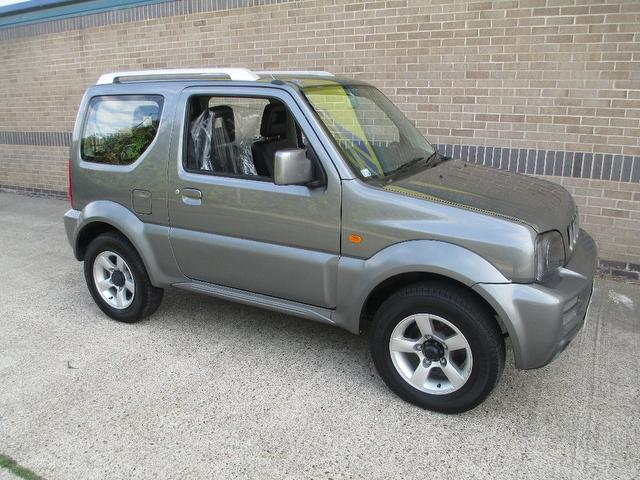Cars For Sale Uk Norfolk: Used Suzuki Jimny 2007 Grey Paint Petrol 1.3 Vvt Jlx