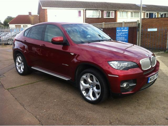 used bmw x6 2009 red paint diesel xdrive35d 5dr step auto 4x4 for sale in ashford uk autopazar. Black Bedroom Furniture Sets. Home Design Ideas