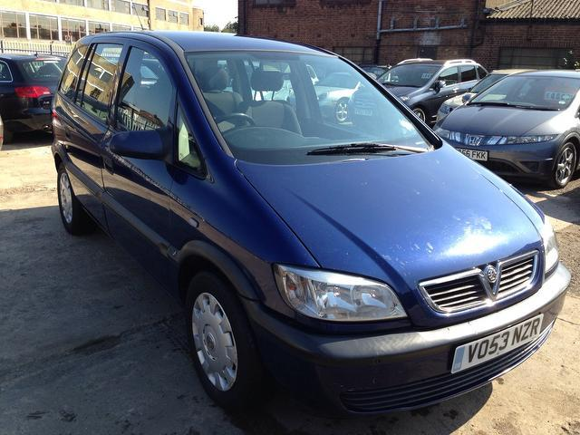 used vauxhall zafira for sale under 5000 autopazar. Black Bedroom Furniture Sets. Home Design Ideas