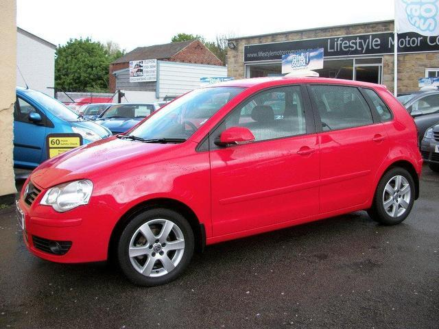 Used Volkswagen Polo 1.4 Match Tdi 70 Hatchback Red 2009 Diesel for Sale in UK