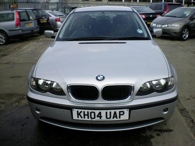 used bmw 3 series 2004 diesel 320d se 4dr saloon silver automatic for sale in wembley uk autopazar. Black Bedroom Furniture Sets. Home Design Ideas