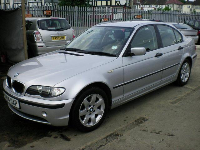 used bmw 3 series 2004 diesel 320d se 4dr saloon silver. Black Bedroom Furniture Sets. Home Design Ideas