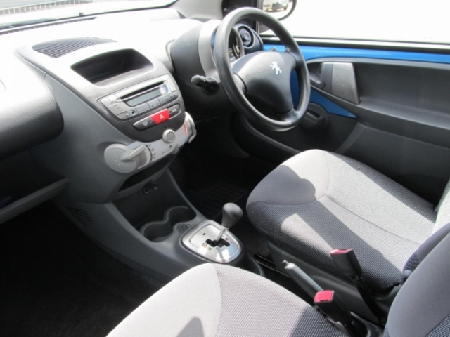 Used Cars For Sale Under 3000 >> Used Peugeot 107 2006 Automatic Petrol Blue For Sale Uk - Autopazar