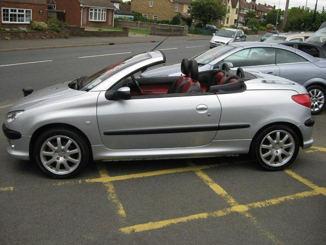Used convertibles autos post - Peugeot 206 coupe cabriolet review ...