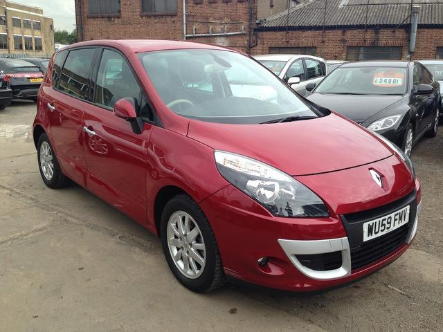 Used Renault Scenic 2010 Red Estate Petrol Automatic for Sale