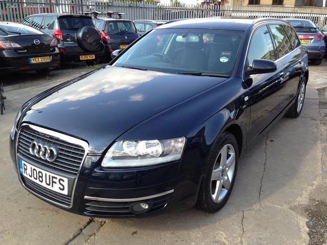 used audi a6 car 2008 blue diesel 2 0 tdi dpf se estate for sale in wembley uk autopazar. Black Bedroom Furniture Sets. Home Design Ideas