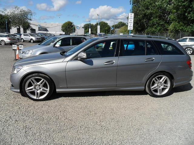 Used mercedes benz 2008 diesel class c220 cdi sport estate for Mercedes benz c220 cdi for sale