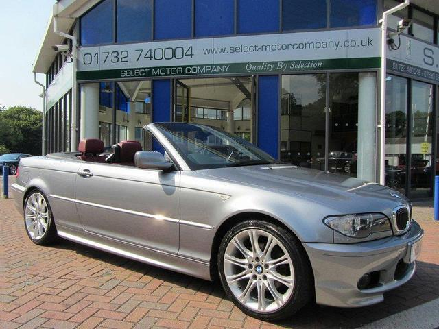 used bmw 3 series 2006 petrol 320 ci m convertible grey manual for sale in sevenoaks uk autopazar. Black Bedroom Furniture Sets. Home Design Ideas