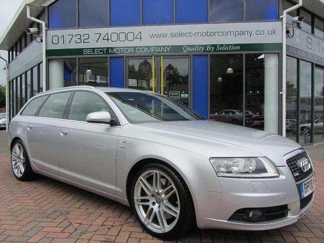 Used Audi A6  Estate Silver 2008 Diesel for Sale in UK