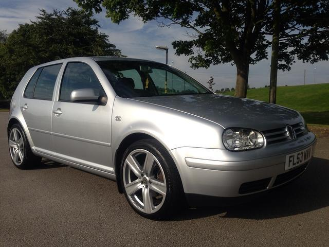 used volkswagen golf 2003 silver colour diesel 1 9 gt tdi 130 hatchback for sale in stoke on