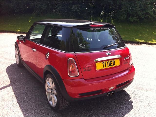 used red mini hatch 2004 petrol cooper s 1 6 3dr hatchback in great condition for sale autopazar. Black Bedroom Furniture Sets. Home Design Ideas