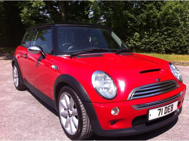 ... Red Mini Hatch 2004 Petrol Cooper S 1.6 3dr Hatchback In Great