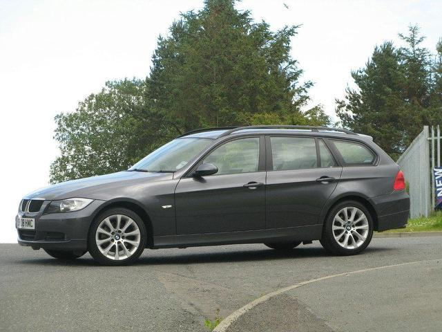 used bmw 3 series 2008 diesel 320d se 5dr estate grey manual for sale in turrif uk autopazar. Black Bedroom Furniture Sets. Home Design Ideas