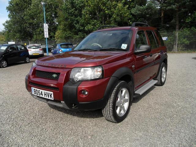 used land rover freelander car 2004 red diesel 2 0 td4 hse 4x4 for sale in inveralmond place uk. Black Bedroom Furniture Sets. Home Design Ideas