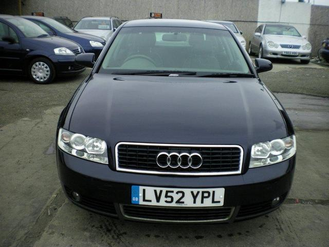 Used Audi A4 1.9 Tdi 130 Se Saloon Blue 2002 Diesel for Sale in UK