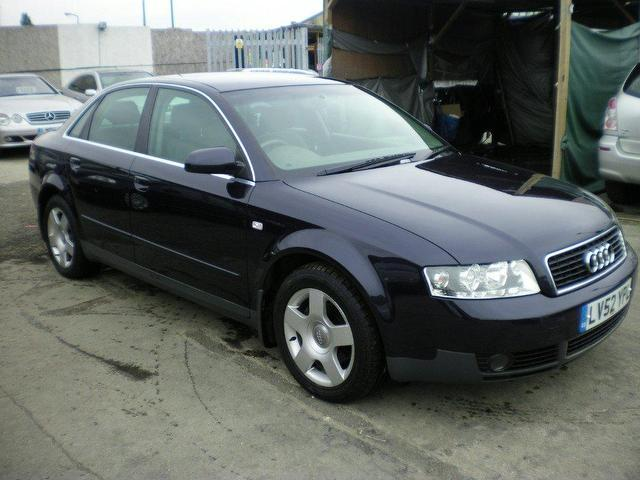 Used Audi A4 2002 Blue Saloon Diesel Manual for Sale