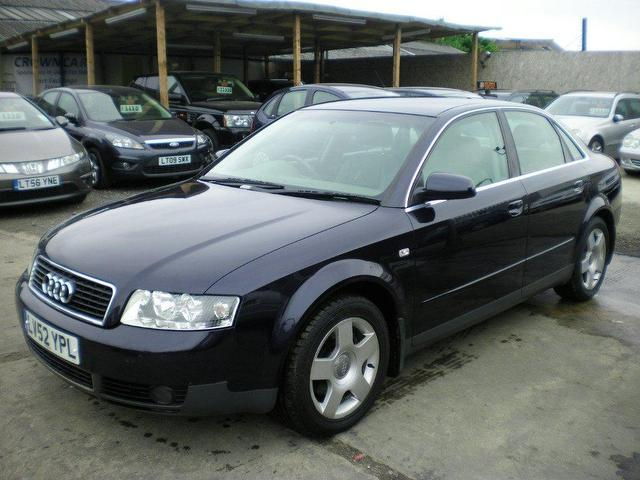 used audi a4 2002 diesel 1 9 tdi 130 se saloon blue manual for sale in wembley uk autopazar. Black Bedroom Furniture Sets. Home Design Ideas