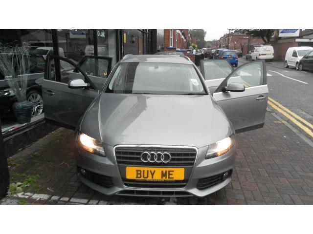 Used Audi A4 2010 Grey Estate Diesel Manual for Sale