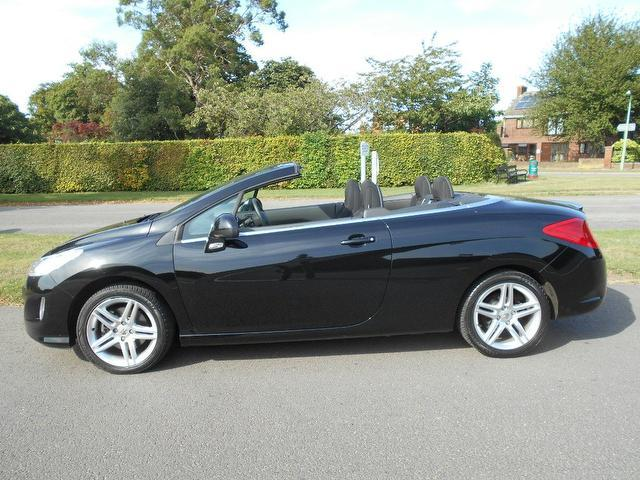 used 2010 peugeot 308 convertible 2 0 hdi 140 se diesel for sale in newmarket uk autopazar. Black Bedroom Furniture Sets. Home Design Ideas