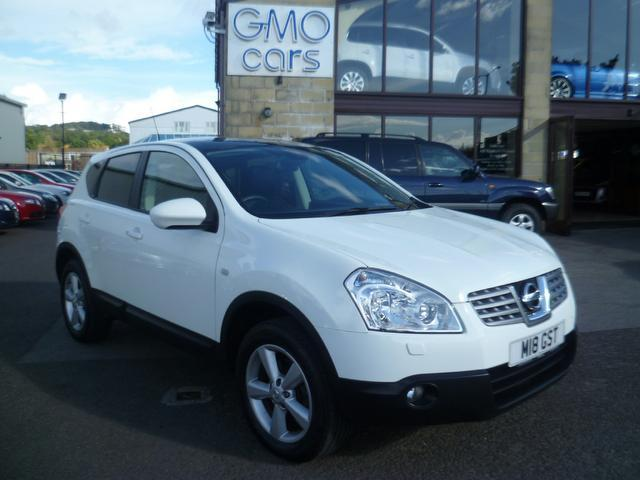 used nissan qashqai 2009 manual diesel 1 5 dci tekna 5 door white for sale uk autopazar. Black Bedroom Furniture Sets. Home Design Ideas