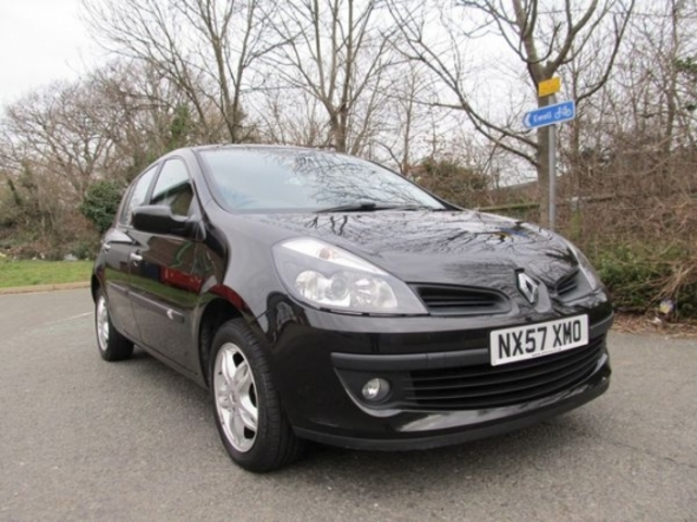 used renault clio 2007 petrol black automatic for sale in epsom uk autopazar. Black Bedroom Furniture Sets. Home Design Ideas