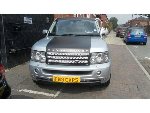 used land rover range 2006 diesel sport 2 7 4x4 silver edition for sale in stockport uk autopazar. Black Bedroom Furniture Sets. Home Design Ideas