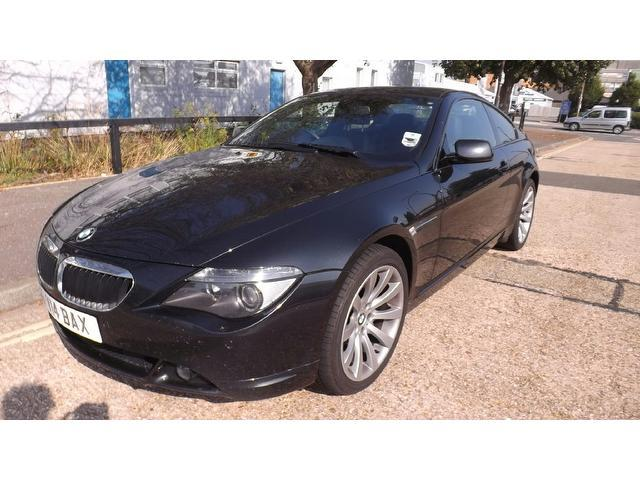 used black bmw 6 series 2006 petrol 630i sport 2dr coupe. Black Bedroom Furniture Sets. Home Design Ideas