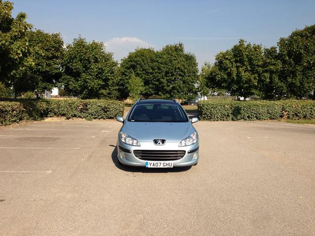 Used Peugeot 407 2.0 Hdi 136 Se Estate Blue 2007 Diesel for Sale in UK