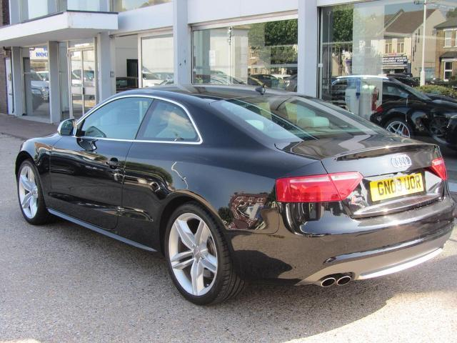 used audi s5 2009 automatic petrol quattro 2 door tip black for sale uk autopazar. Black Bedroom Furniture Sets. Home Design Ideas