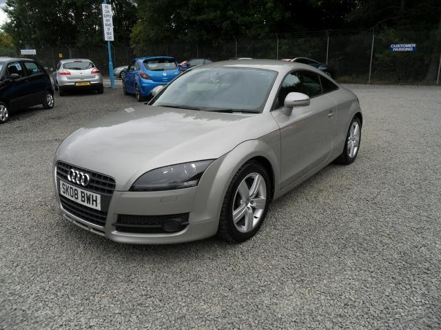 used audi tt 2008 model fsi 2dr s petrol coupe beige for sale in inveralmond place uk. Black Bedroom Furniture Sets. Home Design Ideas
