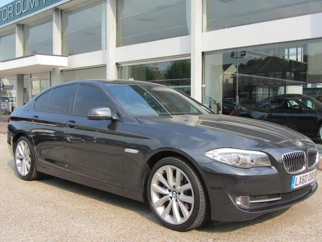 used 2010 bmw 5 series saloon grey edition 520d se 4dr. Black Bedroom Furniture Sets. Home Design Ideas