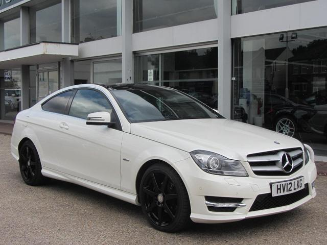 Used mercedes benz car 2012 white diesel class c220 cdi for Used cars for sale mercedes benz