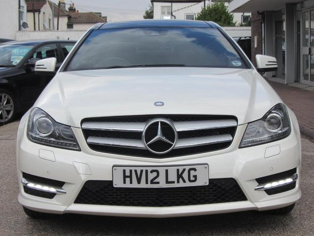 Used Mercedes Benz Car 2012 White Diesel Class C220 Cdi