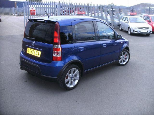 used fiat panda 2007 petrol 1 4 16v 100hp 5dr hatchback blue manual for sale in oswestry uk. Black Bedroom Furniture Sets. Home Design Ideas