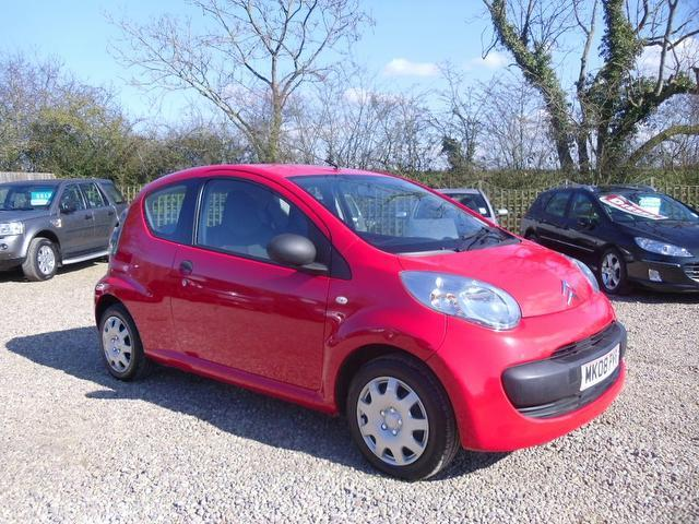 used red citroen c1 2008 petrol vibe 3dr with. Black Bedroom Furniture Sets. Home Design Ideas