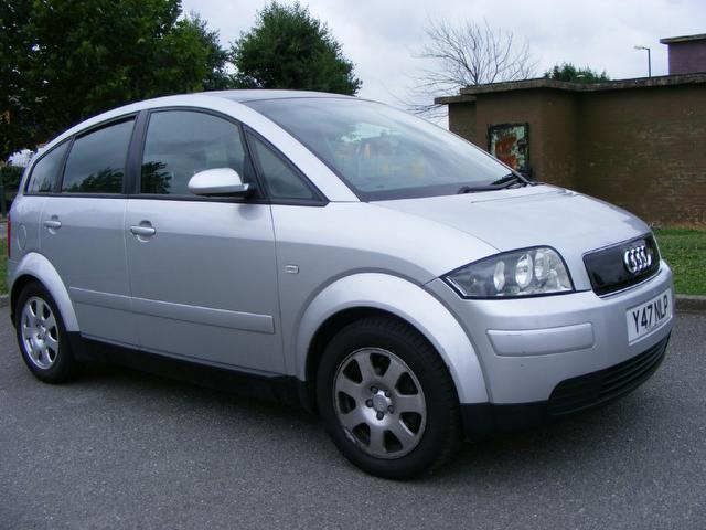 Used Silver Audi A2 2001 Petrol 1 4 5dr Service History border=