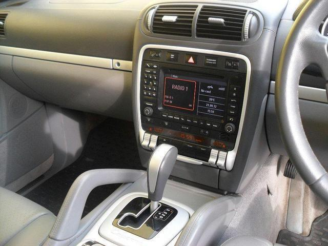 Used Porsche Cayenne S 5 Door Tiptronic 4x4 Silver 2005 Petrol for Sale in UK
