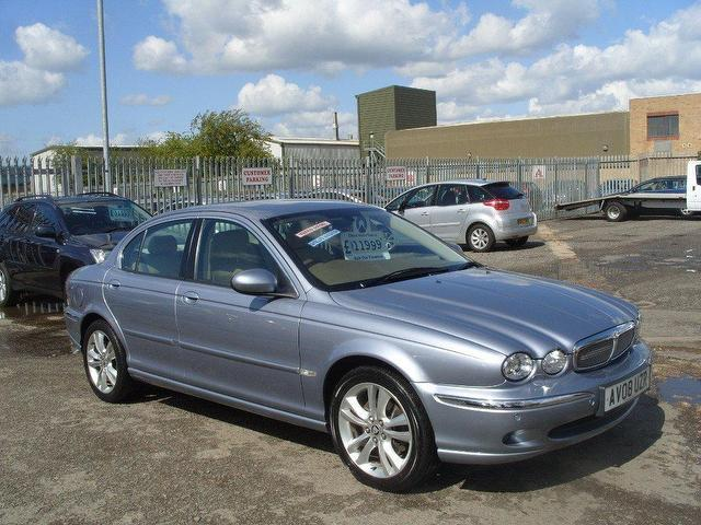 used jaguar x type 2008 diesel sovereign 4dr saloon blue edition for sale in fengate uk. Black Bedroom Furniture Sets. Home Design Ideas