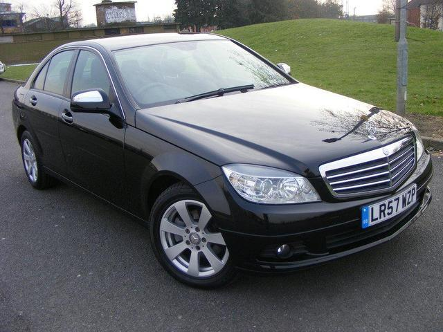 Used mercedes benz 2007 petrol class c180k se 4dr manaul for Mercedes benz for sale in london