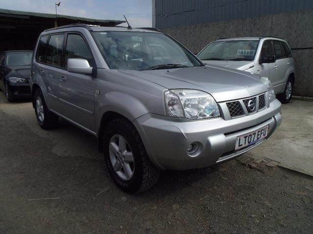 used nissan x trail 2007 diesel 2 2 dci 136 se 4x4 silver with cruise control for sale autopazar. Black Bedroom Furniture Sets. Home Design Ideas