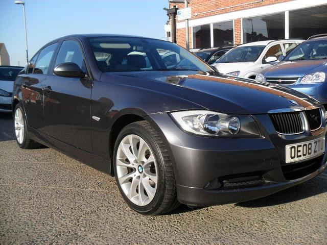 used bmw 3 series car 2008 grey diesel 318d edition se saloon for sale in portsmouth uk autopazar. Black Bedroom Furniture Sets. Home Design Ideas