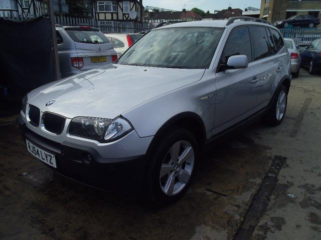 used bmw x3 2004 petrol sport 5dr auto 4x4 silver edition for sale in wembley uk autopazar. Black Bedroom Furniture Sets. Home Design Ideas