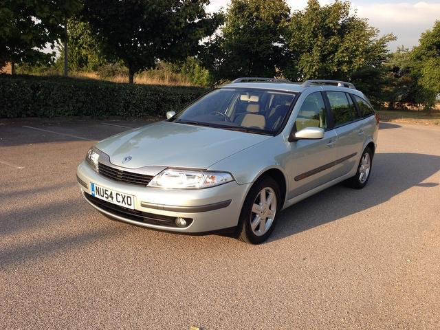 Used Renault Laguna 2005 Grey Estate Petrol Manual for Sale