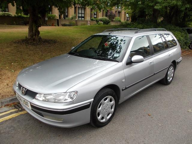 Used Peugeot 406 1.8 Lx 5 Door [sr] Estate Silver 2000 Petrol for Sale in UK