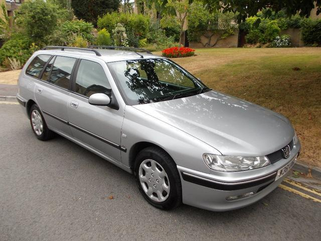 Used Peugeot 406 2000 Silver Estate Petrol Manual for Sale