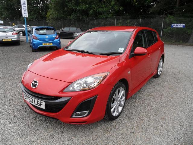 used red mazda mazda3 2010 petrol 1 6 takuya 5dr lovely hatchback in great condition for sale. Black Bedroom Furniture Sets. Home Design Ideas